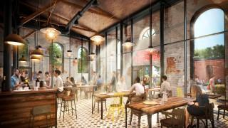 Wnętrze kawiarni