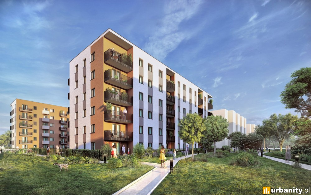 Mały Płaszów w Krakowie z nowymi mieszkaniami w ramach osiedla City Vibe