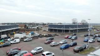 Rozbudowa Karuzeli o dwa budynki handlowe