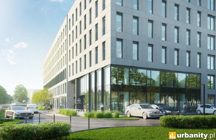 Projekt nowego biurowca przy Krakowskiej 35 we Wrocławiu
