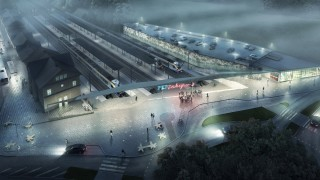 Nowoczesne Centrum Komunikacyjne w Zakopanem - wizualizacja