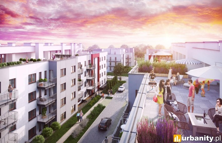 Projekt osiedla Vitalia na wrocławskiej Klecinie