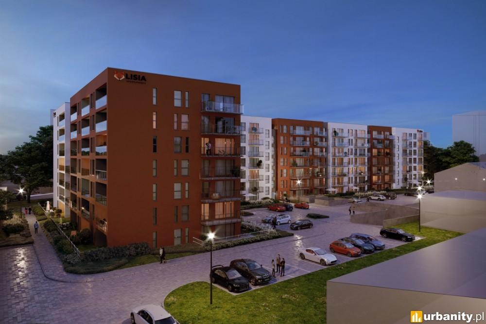 Trwa budowa i sprzedaż mieszkań przy Lisiej w Zielonej Górze