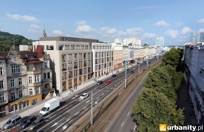 Projekt biurowca Officyna w Gdańsku