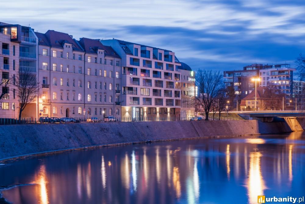 Oddany został kolejny apartamentowiec nad Odrą we Wrocławiu