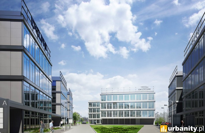 Enterprise Park w Krakowie - wizualizacja