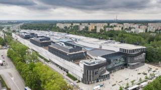 Gotowy budynek Galerii Młociny w Warszawie