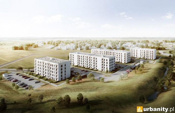 Mieszkanie Plus w Nakle nad Notecią - wizualizacja