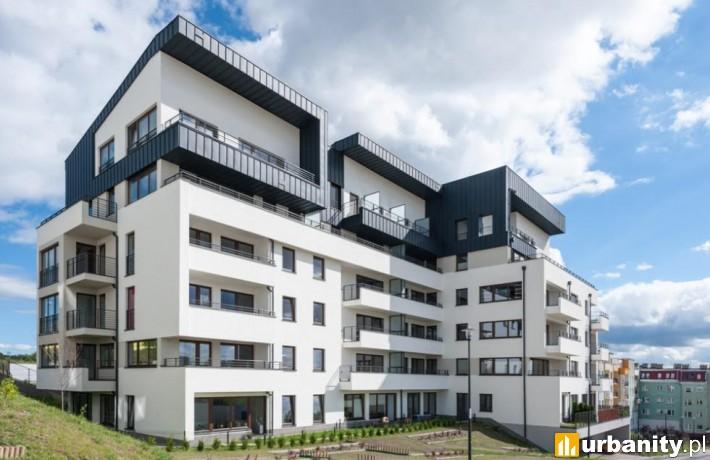 Gotowy budynek na osiedlu Panoramika w Szczecinie