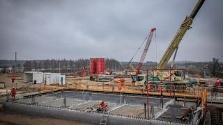 Postęp prac na budowie Instalacji Termicznego Przekształcania Odpadów w Olsztynie