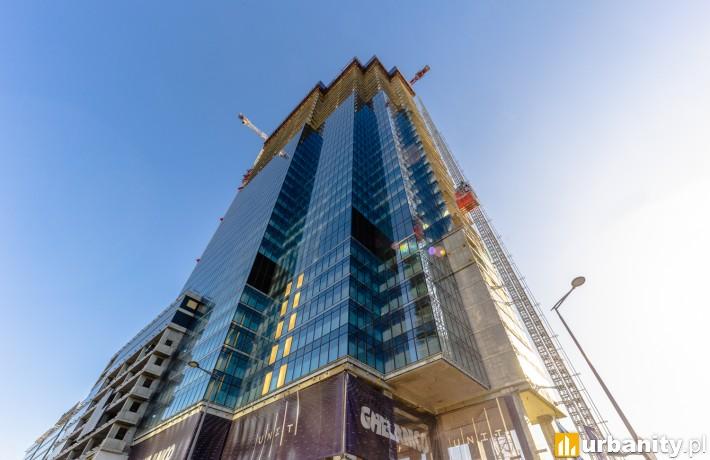 Warsaw UNIT - budowa marzec 2020 r.