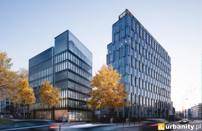 Biurowiec EQ2 w Warszawie - wizualizacja