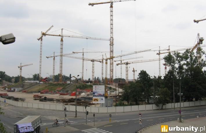 Budowa Stadionu Narodowego w Warszawie