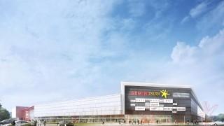 Projekt centrum handlowego Gemini Park Tychy