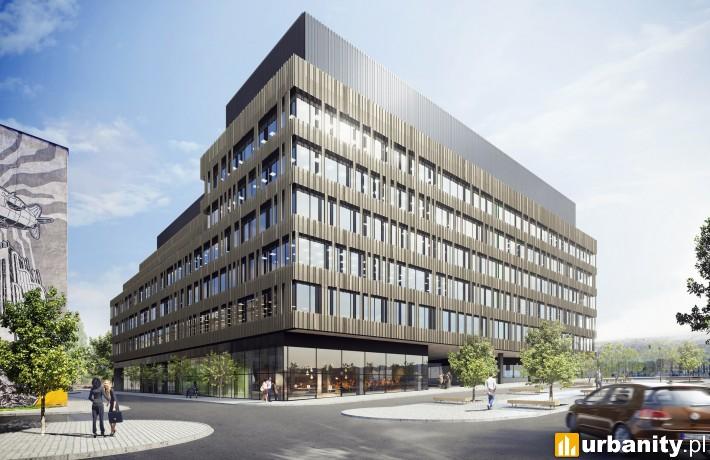 Biurowiec Nowa Fabryczna w Łodzi - projekt