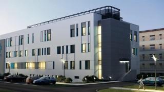 Nowy budynek szpitala zrealizowany przez firmę Skanska