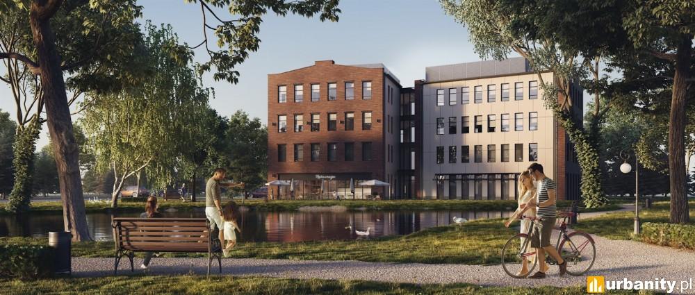 Faktoria - pierwszy nowoczesny biurowiec w Konstancinie-Jeziorna