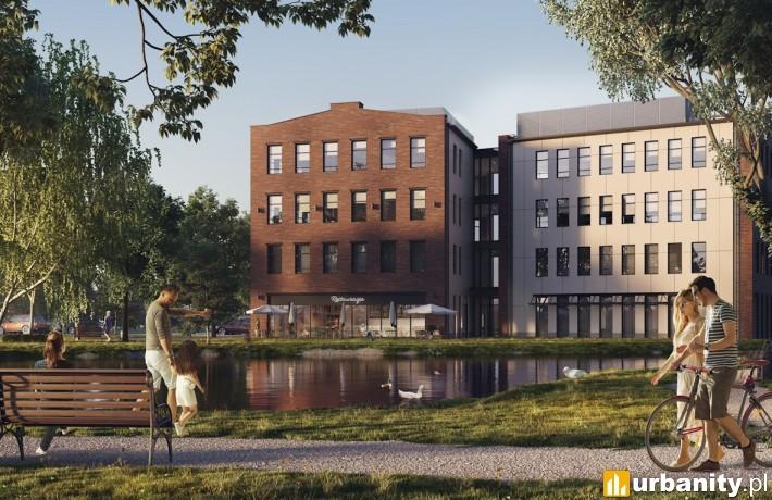 Budynek Faktoria w Konstancinie-Jeziorna - wizualizacja