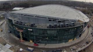 Zaawansowane prace budowlane hali w Gliwicach