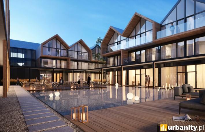 Kompleks hotelowy Karkonosze Springs koło Jeleniej Góry- wizualizacja