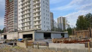 Zaawansowanie prac budowlanych na budowie osiedla Nowe Tysiąclecie
