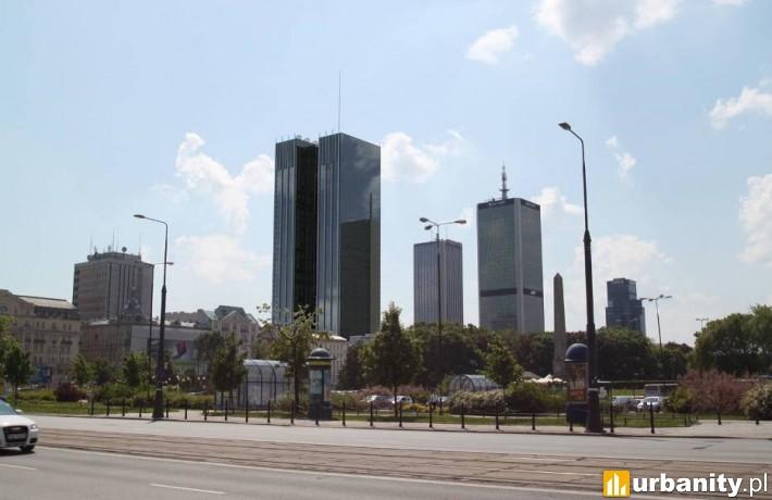 Wstępna koncepcja wieżowca Roma Tower w Warszawie