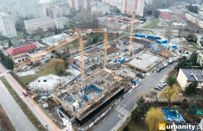 Postęp prac na budowie przy Bardowskiego 1