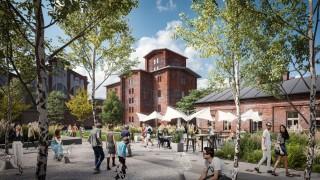 Nowy plac miejski w kompleksie Fuzja w Łodzi