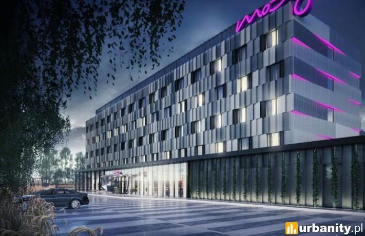 Projekt hotelu Moxy w Poznaniu