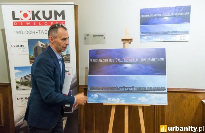 Projekt neonu, który stanie na budynku osiedla Lokum Victoria