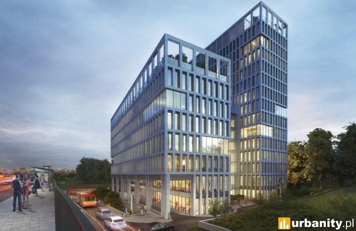 Koncepcja architektoniczna biurowca Vector+