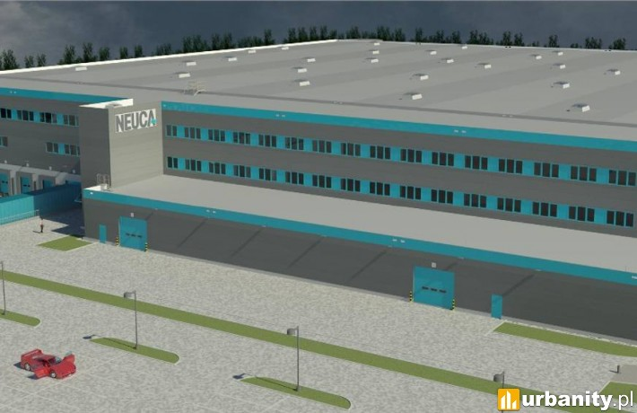 Tak ma wyglądać nowe centrum logistyczno-magazynowe