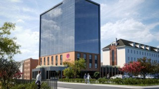 Hotel sieci Focus Hotels w Bydgoszczy - wizualizacja