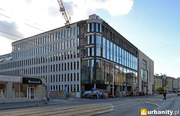 Tak obecnie wygląda budowa biurowca Retro Office House (fot. alsen strasse 67)