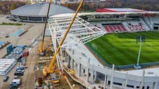 Stadion ŁKS Łódź - listopad 2020 r. (fot. UMŁ)