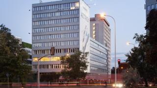 Biurowiec firmy Zeitgeist Asset Management, który stanie się domem studenckim
