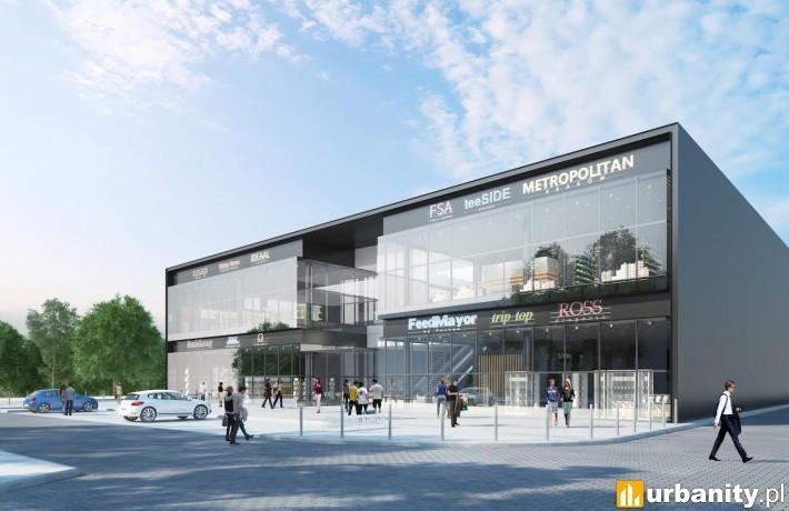 Tak wyglądało będzie 2-poziomowe centrum Atut w Krakowie