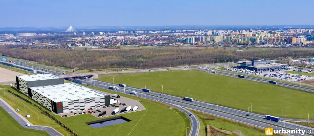 W zachodniej części Wrocławia powstanie magazyn City Flex Wrocław Airport
