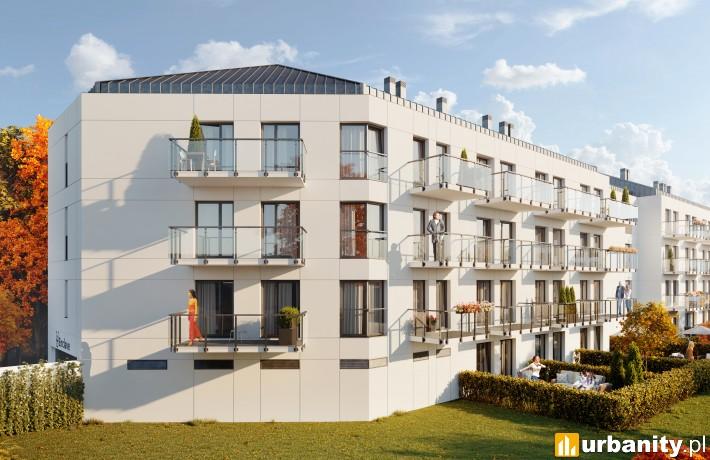 Projekt osiedla Enclave w Pruszkowie