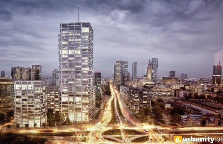 Wizualizacja kompleksu Generation Park w Warszawie