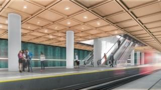 II linia warszawskiego metra - wizualizacja