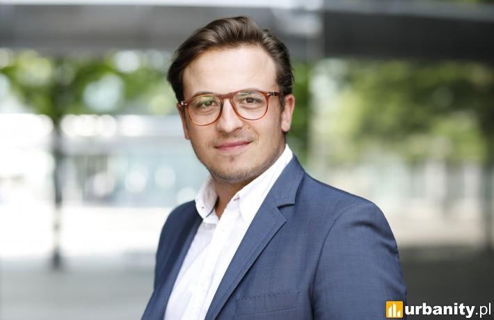 Michał Mierzwa, ekspert w Dziale Powierzchni Biurowych Colliers International w Polsce