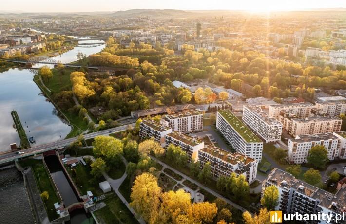 Zakątek Dąbie w Krakowie - wizualizacja