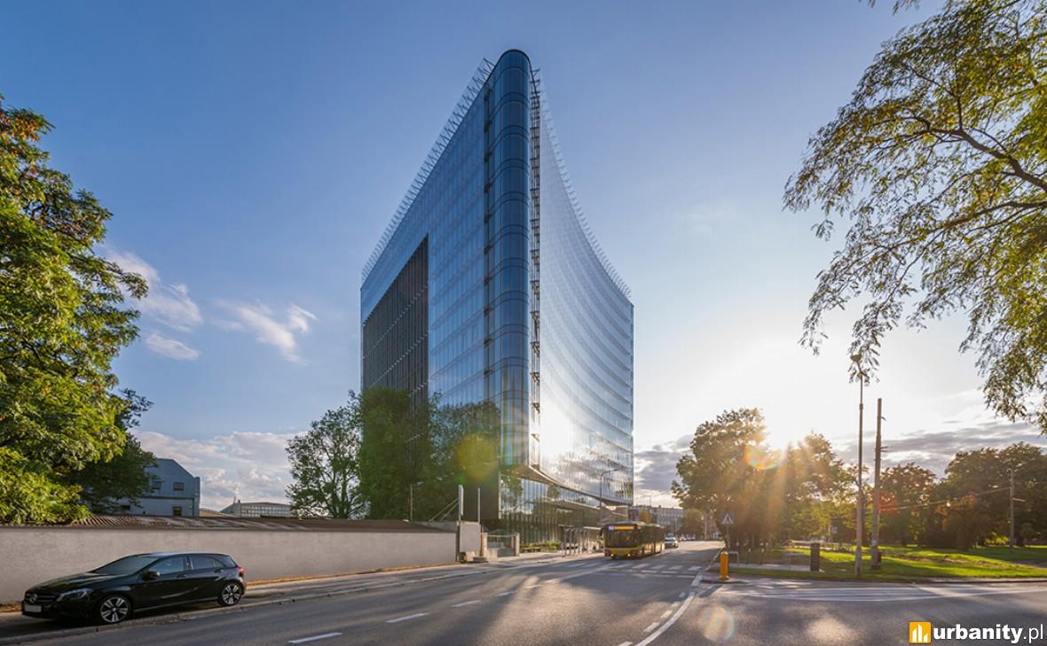 Niemiecka firma informatyczna w biurowcu Carbon Tower
