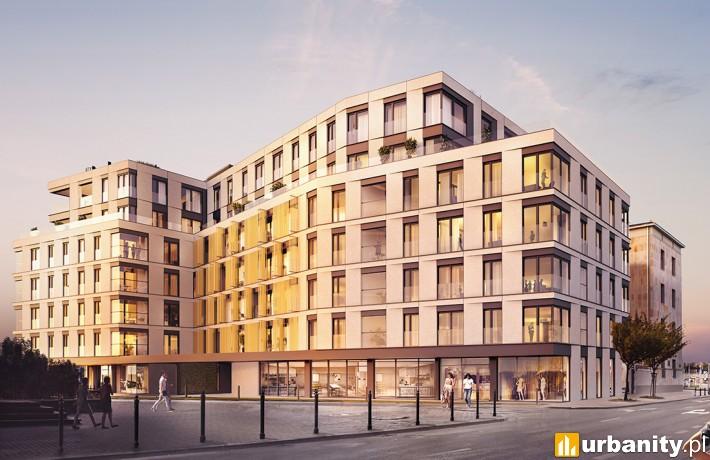 Flisac Apartamenty Powiśle - wizualizacja