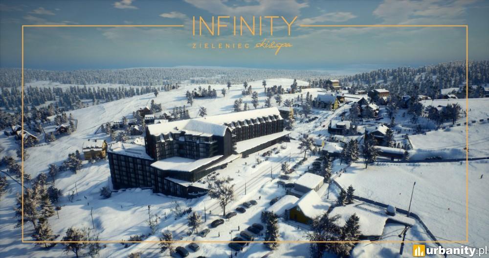 Nowoczesny aparthotel w jednym z największych w Polsce ośrodków narciarskich