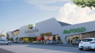 Projekt jednopoziomowego parku handlowego Piaseczno