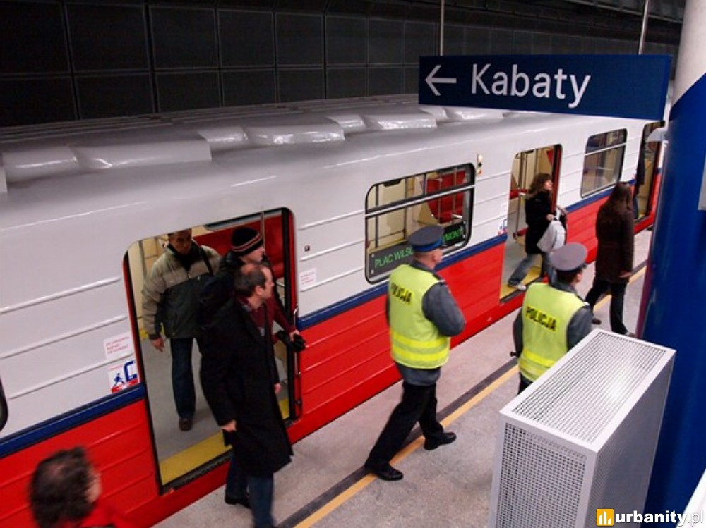Nawet 45 nowych pociągów metra za prawie 400 mln zł