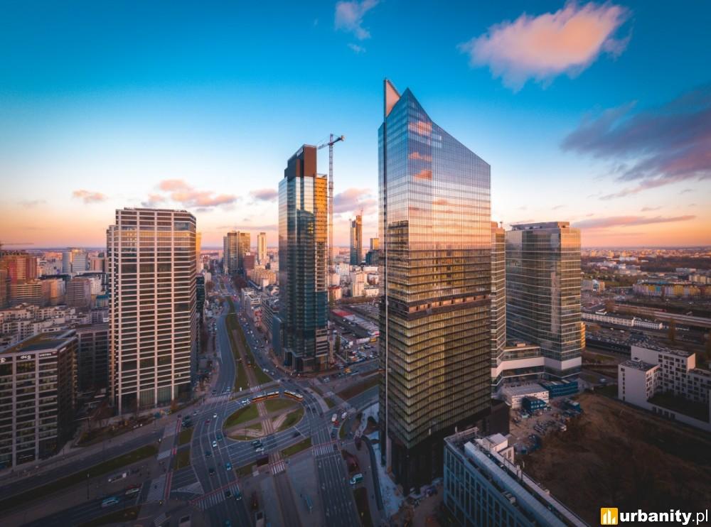 Gotowy jeden z najwyższych wieżowców w Warszawie