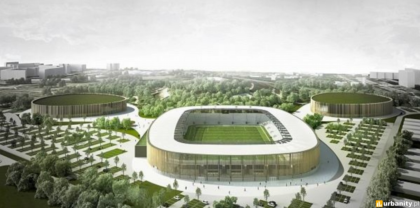 Budowa stadionu w Sosnowcu zablokowana przez ptaki